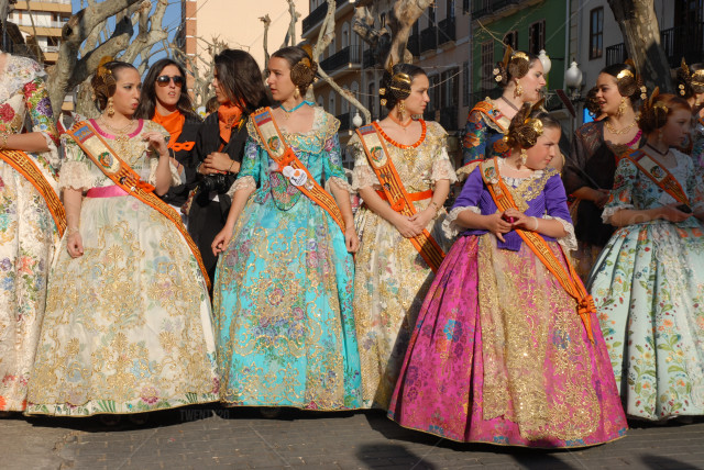 March in Valencia – FALLAS